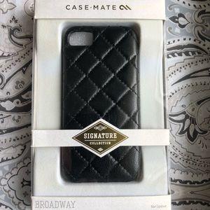 Premium Quilted Leather iPhone 5/5S Case